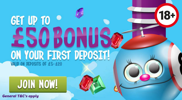 £50 WelcomeBonus